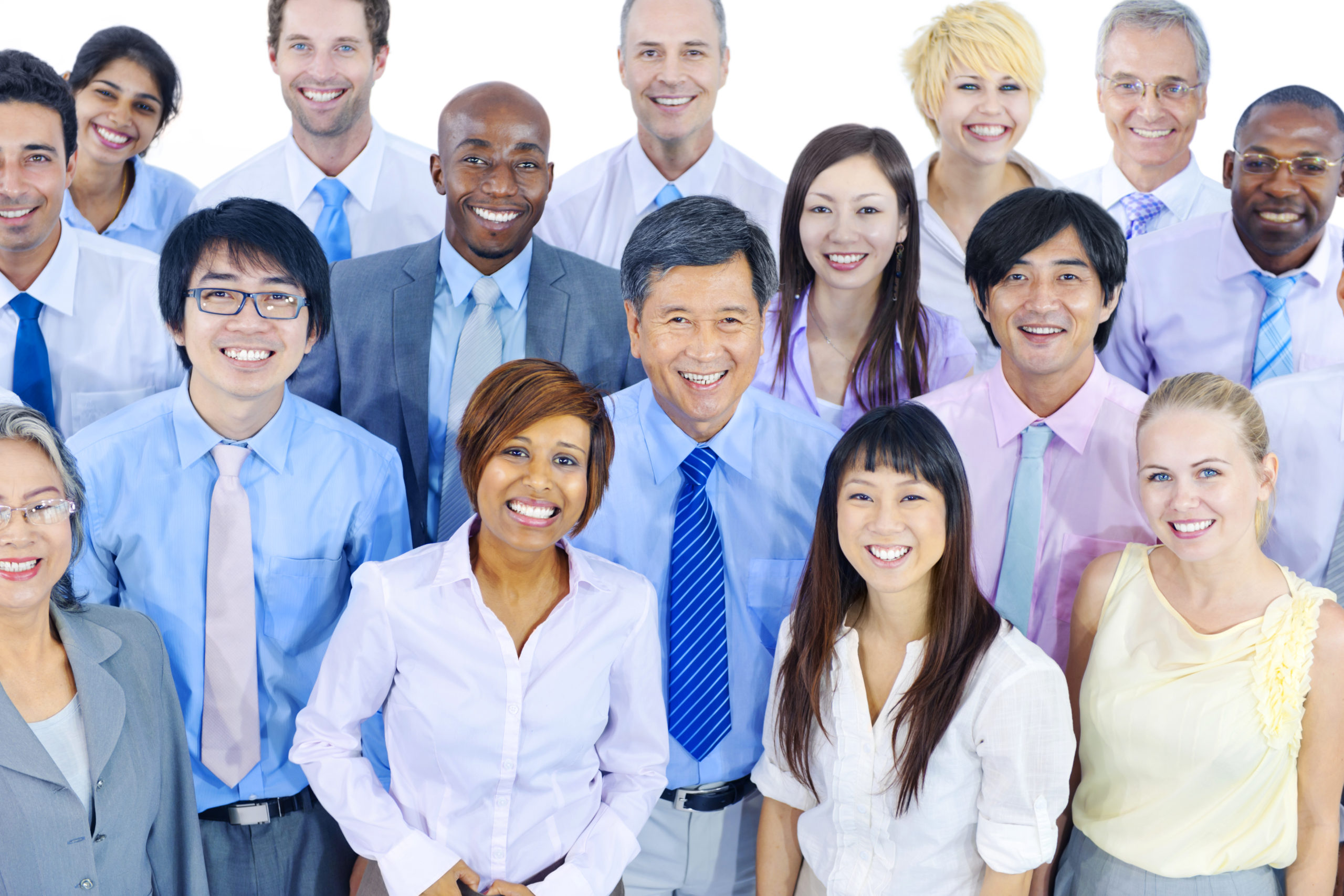 Diverse Group of Business People
